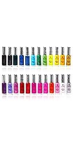 Amazon shany cosmetics the cosmopolitan nail polish set 24 shany famous colors nail art set prinsesfo Image collections