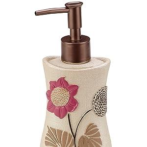 lotion dispenser bottles, gold lotion pump, ceramic lotion dispenser, mason jar lotion dispenser,