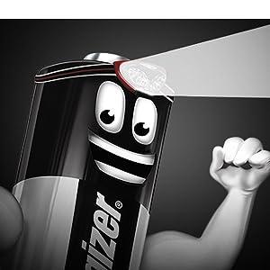Geen stroom? Geen probleem: Dankzij de langdurige prestaties van Energizer hoef je in geen enkele Sien.