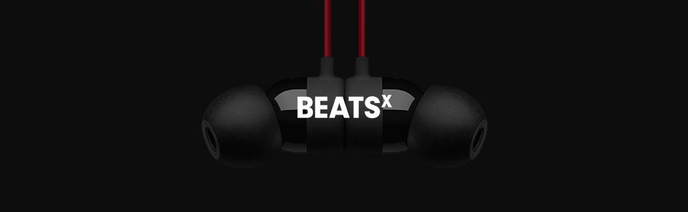 Amazon.com  BeatsX Wireless In-Ear Headphones (2016 Model) - Black ... cbb9d0d90766