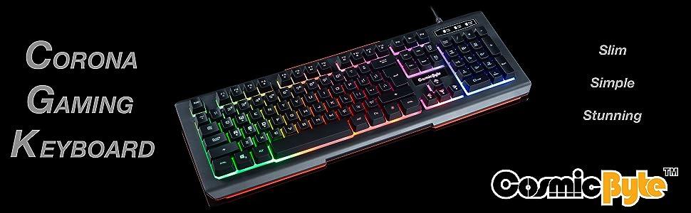 Cosmic Byte Corona Gaming Keyboard