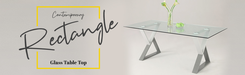 Rectangle Glass Tabletop