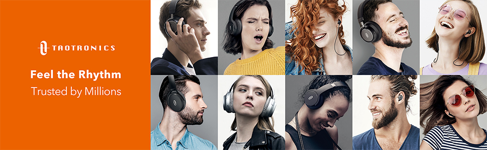 TaoTronics SoundSurge 55 Headphones Trusted by Millions