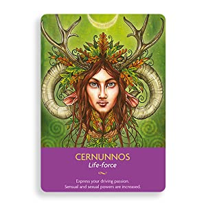 Cernunnos Keepers of the Light Oracle Cards Kyle Gray