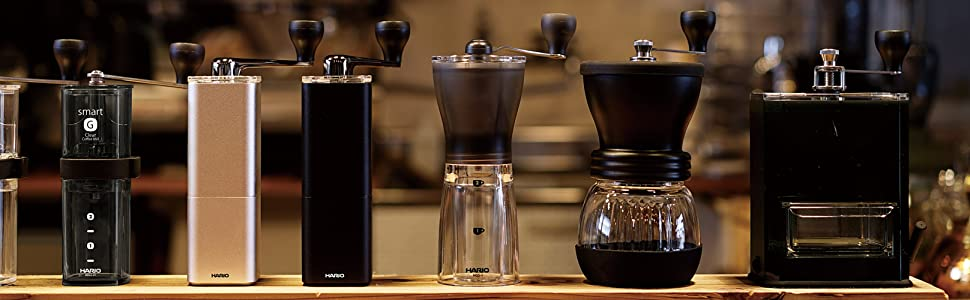 HARIO コーヒーミル 手挽きミル スケルトン セラミック製ミル