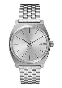 Time Armbanduhr Black Nixon Silberschwarz Teller OP8X0kwNnZ