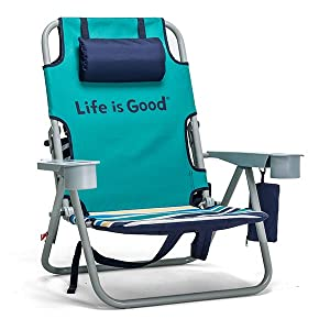 Life is Good Beach Chair - Oversized Seat