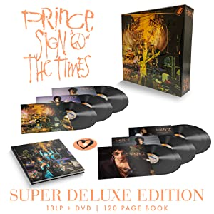 Prince Sign O' The Times Super Deluxe Vinyl