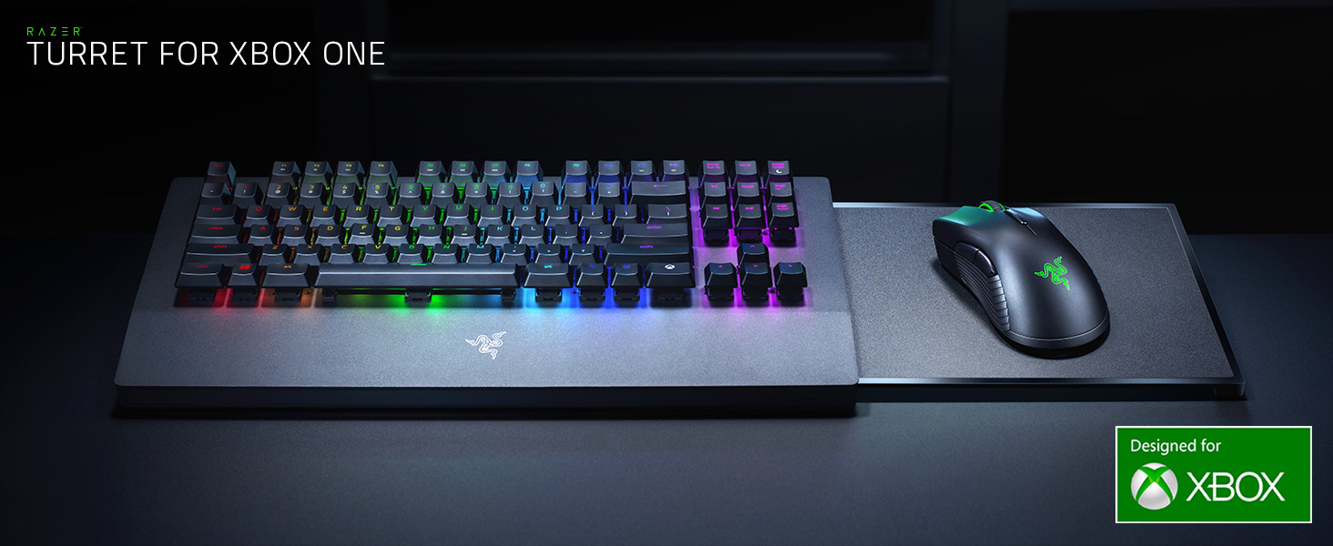Razer Turret For Xbox One Keyboard And Mouse Bundle For The Microsoft Xbox One Us Layout And Uk Plug Amazon Co Uk Computers Accessories
