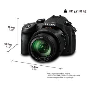 Panasonic LUMIX DMC-FZ1000G9 Premium-Bridgekamera: Amazon