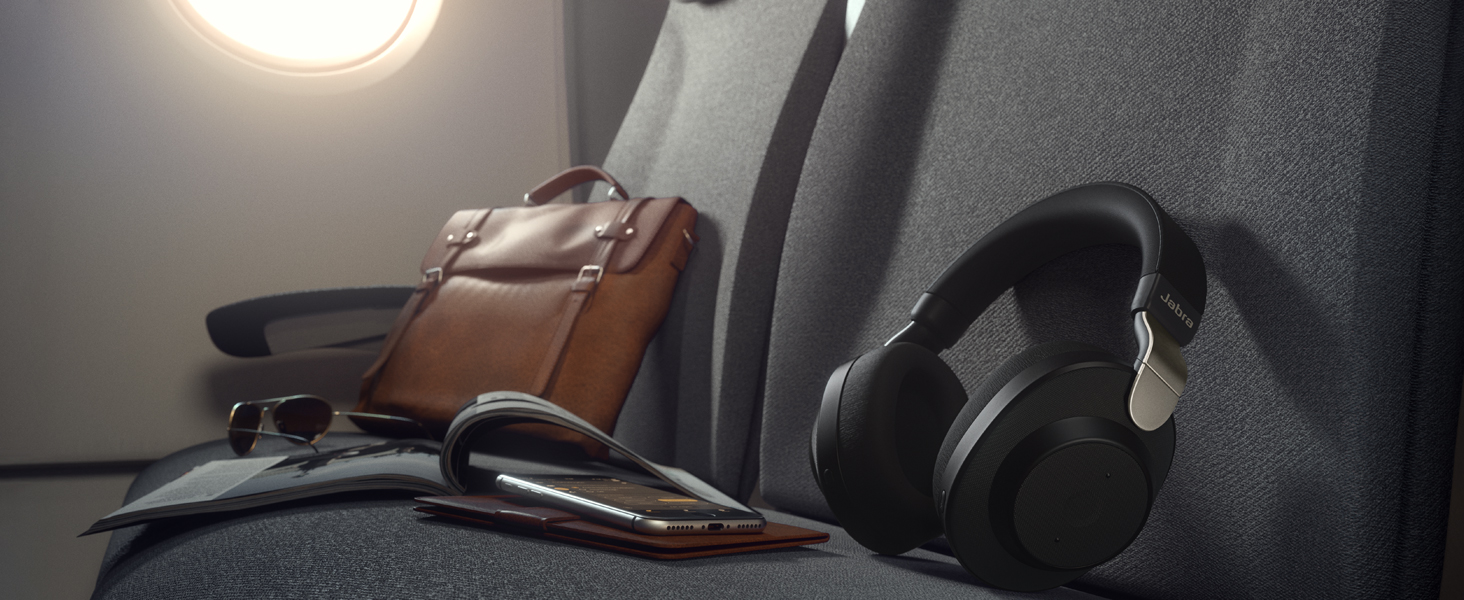 Smart Active Noise Cancellation blocks unwanted background noise, for superior sound