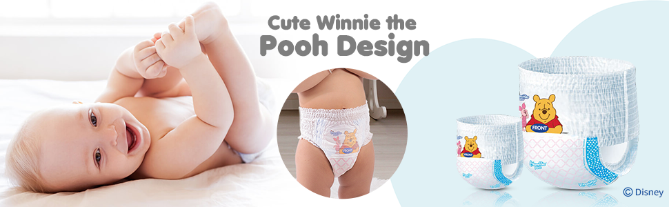 Cute Diaper Design by Disney