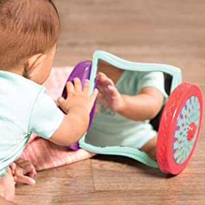Activity baby toddler infant mirror crawl first years Fisher-price snail baby toy 0 3 6 9 12