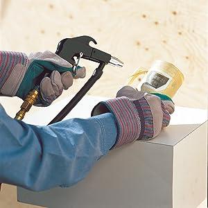Sand blaster, sandblasting, powder coating, abrasive blaster, campbell hausfeld