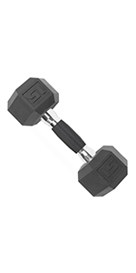 urethane coated dumbbell