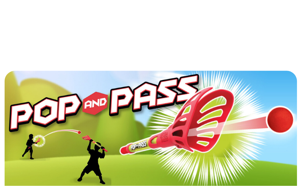 Hog Wild, Toys, POP and PASS, Outdoor Game, Popper, Launch, Throw, Catch, Backyard, Beach, Fun