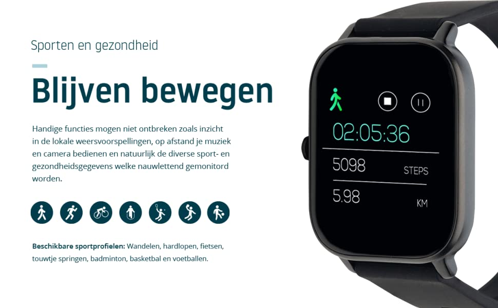 Nordväl SW101B Smartwatch