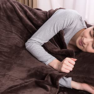 毛布+敷きパッド+枕カバーをセットで使えばもっとあったか