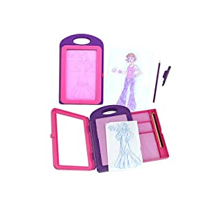 Melissa & Doug- Fashion Design Activity Kit Gomas de borrar (14312 ...