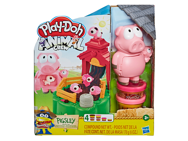 Play-Doh Animal Crew - Pigsley and her Splashin' Pig Farm
