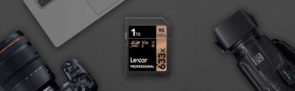 Tarjeta Lexar Professional 633x 64GB SDXC UHS-I: Amazon.es ...