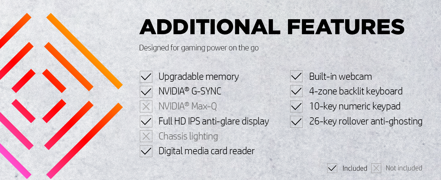 gaming power upgradable media card webcam backlit zoning anti ghosting rollover n-key fhd full hd