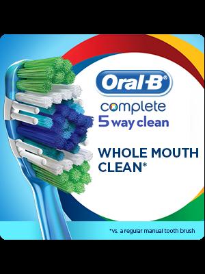 Oral-B Complete 5-Way Clean Manual Toothbrush