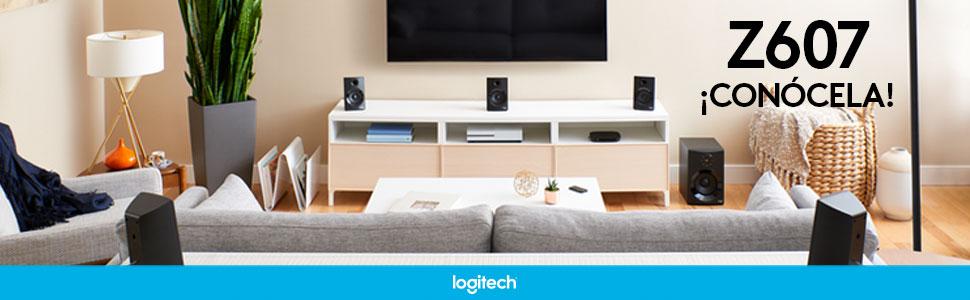 Z607, Home Theater, Trato en casa, Bocina bluetooth, Bocina Logitech, Logitech, Sistema de audio