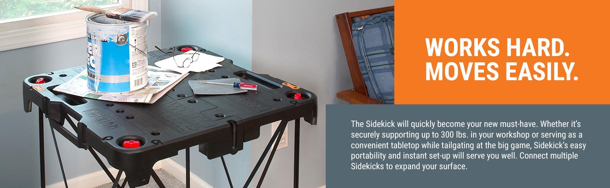 Worx Wx066 Sidekick Portable Work Table Amazon Com