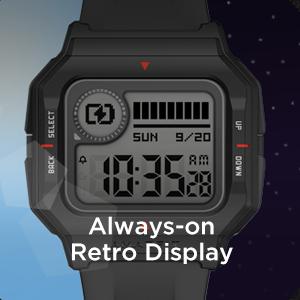 Always-On Retro Display