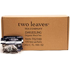 two leaves and a bud Organic Darjeeling Black Tea
