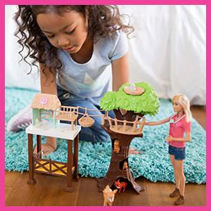 Barbie - Barbie Veterinaria y su granja (Mattel FCP78)