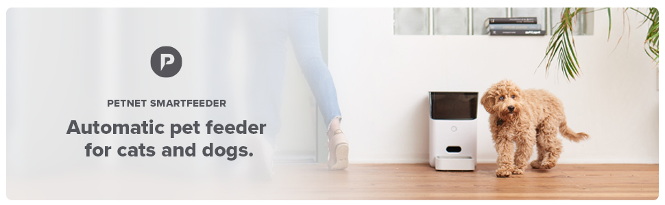 Petnet SmartFeeder Automatic pet feeder for cats and dogs.