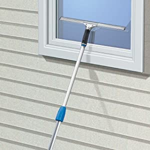 Unger Steel Squeegees with Bonus Rubber