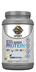 Organic plant based protein