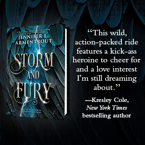 """""""This... action-packed ride features a kick-ass heroine... and a love interest I'm... dreaming about"""