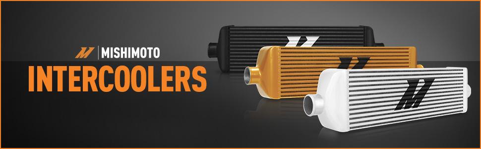 mishimoto ford powerstroke intercooler air water cooler
