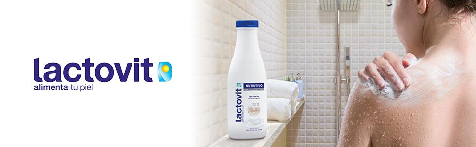 Lactovit - Gel de Baño, Gel Nutritivo, Delicado y Sofisticado - 600 ML