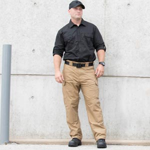 Man in Kinetic standing