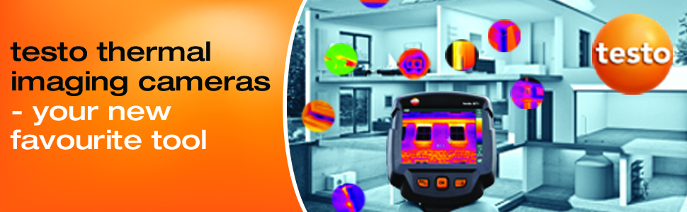 testo 871 - Thermal Imaging Camera (with BT and Wi-Fi Connection