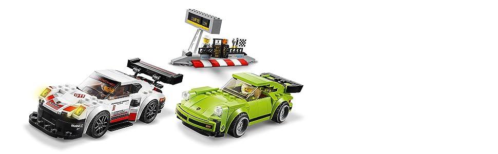 lego speed porsche 911 rsr e 911 turbo 3 0 75888 lego. Black Bedroom Furniture Sets. Home Design Ideas