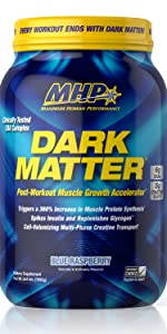 mhp dark matter protein post workout muscle recovery