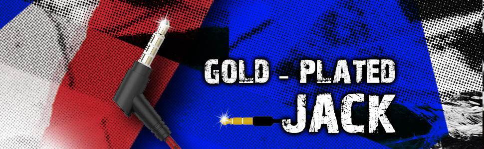 gold plate jack