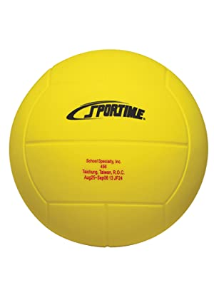 Yellow Volleyball