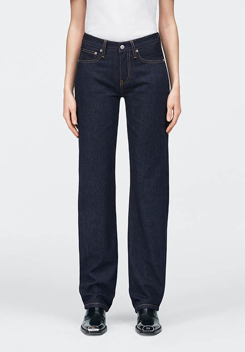 Calvin Klein Womens Mid Rise Skinny Fit Jeans
