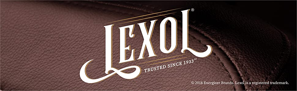 Lexol. Trusted Since 1933.