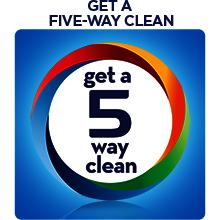 Get a 5 way clean