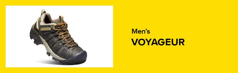 mens voyageur waterproof low sneaker shoe hiking hike hero