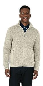 Heathered Fleece Jacket