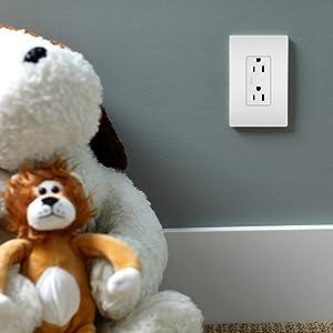 outlet tamper resistant radiant